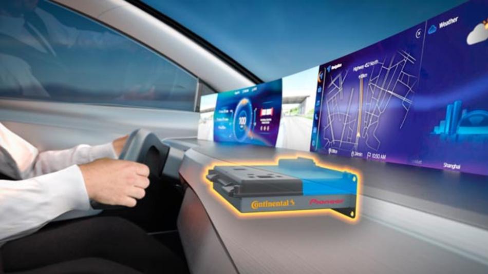 Neues Nutzererlebnis: Continental und Pioneer schließen strategische Partnerschaft
