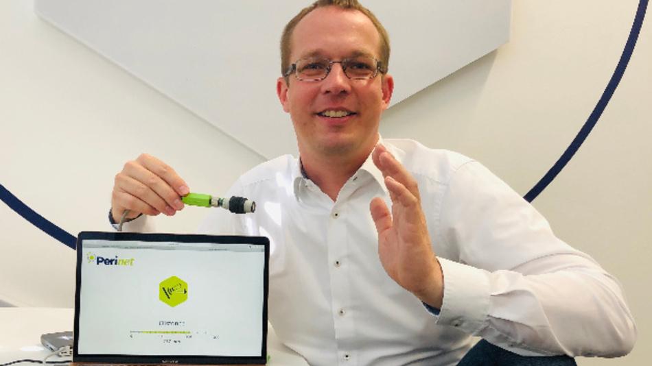 Dr. Karsten Walther, Perinet »Wenn der Sensor ein vollwertiger Kommunikationspartner wird, lässt sich sehr vieles vereinfachen.«