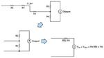Bild 4. Thévenin-Äquivalenzschaltung der Verstärkerschaltung aus Bild 3.