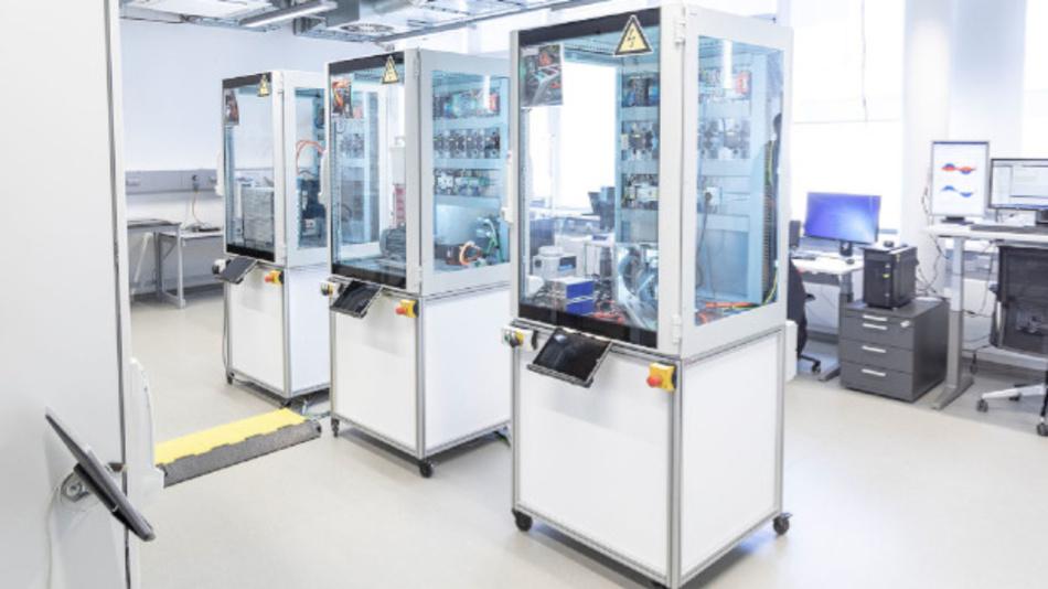 Im DC-Labor am Fraunhofer IPA wird die Gleichspannungsfabrik von morgen getestet.