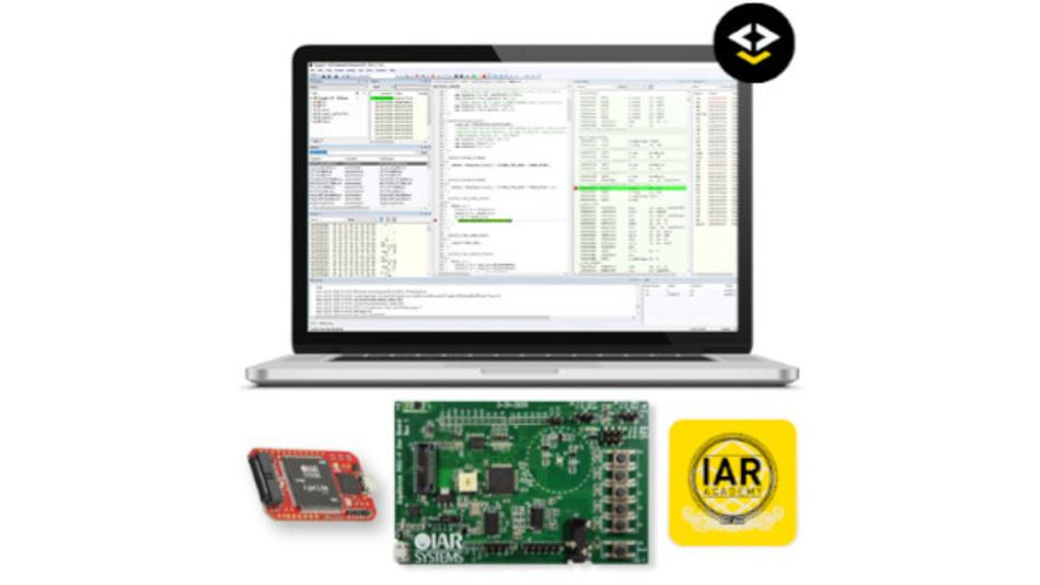 Evaluation Kit für die IAR Embedded Workbench für RISC-V und die GD32VF103-Serie von GigaDevice.