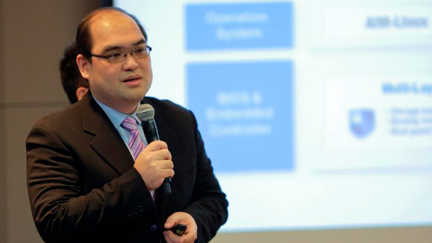Aaron Su ist Associate Vice President Embedded Board of EIoT Group bei Advantech.