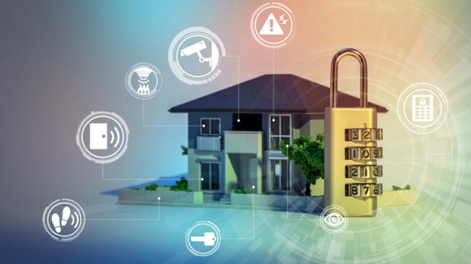 Schutz eines Wohnhauses