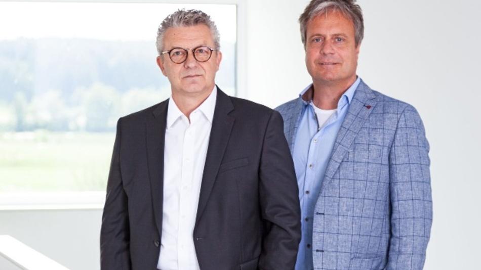 Christoph Zöller (links), Christophe de Bary (rechts) bilden künftig die Geschäftsleitung von STW.