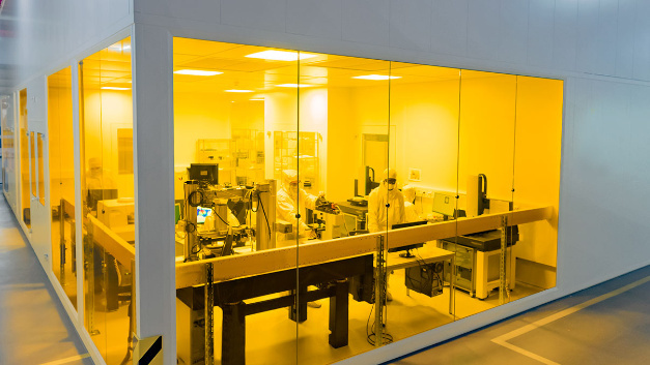 Blick in das SUSS Imprint Excellence Center.