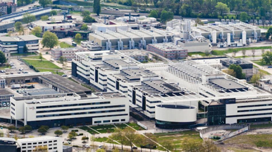 Das Forschungszentrum CEA Leti in Grenoble.