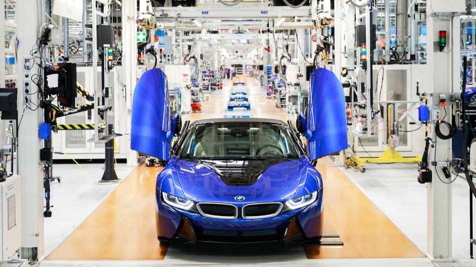 Mitte Juni lief der letzte i8 im BMW-Werk Leipzig vom Band. Insgesamt wurden rund 20.500 Fahrzeuge seit 2014 gefertigt.