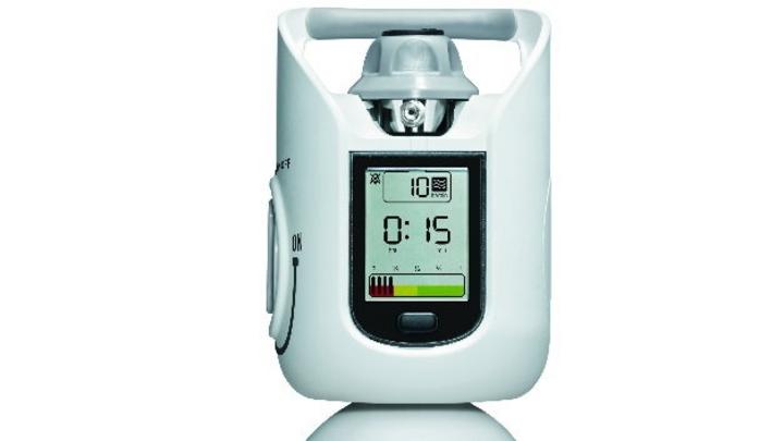 Gasflaschensystem LIV IQ mit digitaler Anzeige