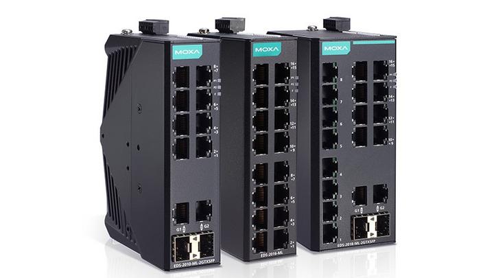 Unmanaged Ethernet Switches von Moxa