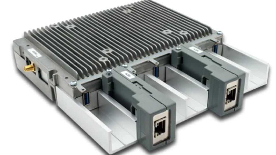 Ergänzt um eine Führungsschiene bietet TB-M Platz für verschiedenste USB-Module.