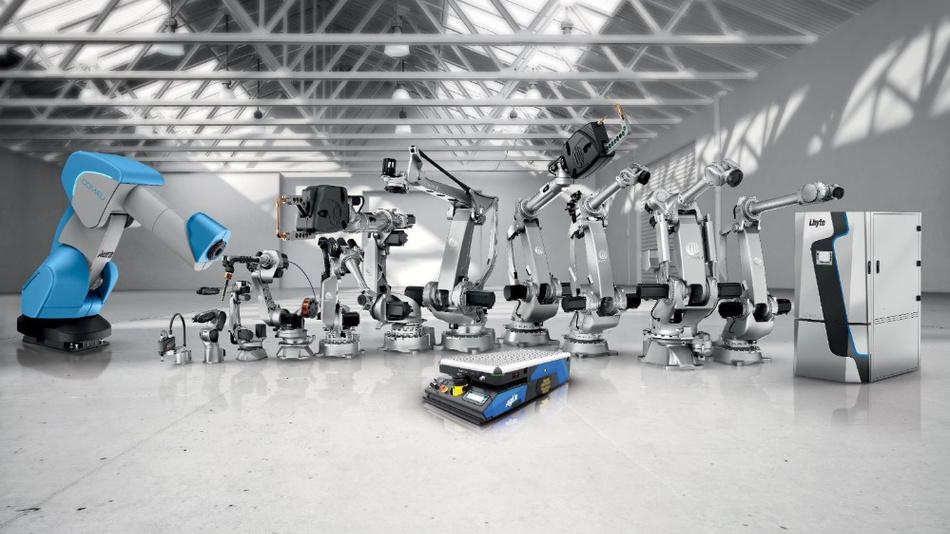 Das Roboter-Produktspektrum von Comau.