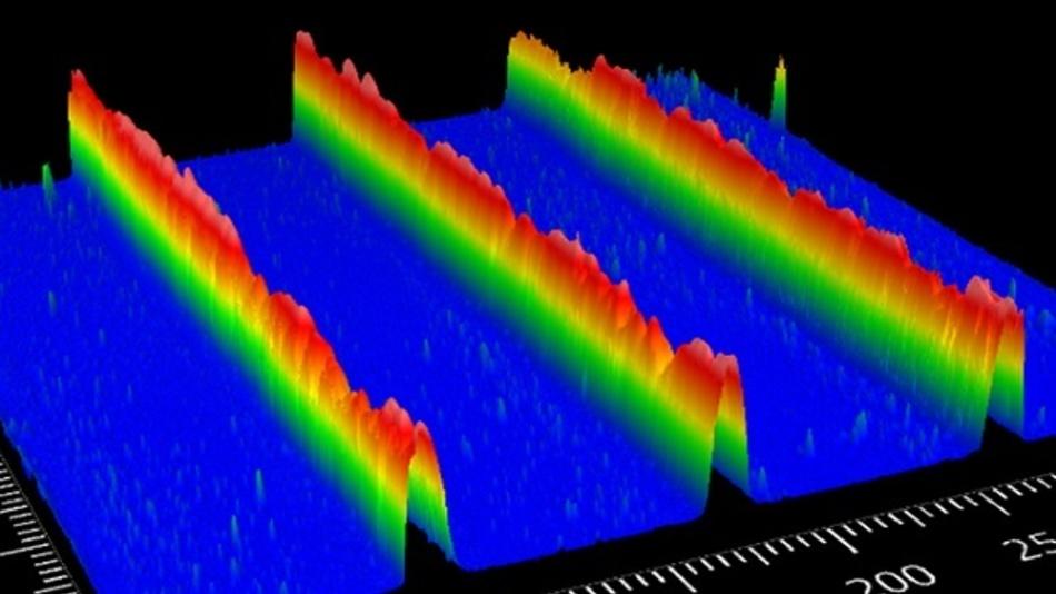 Additiv gefertigtes optisches Gitter zur gezielten Weiterleitung von Lichtsignalen.