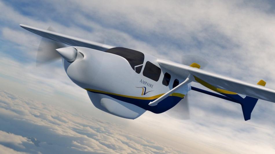 Ampaire entwickelt mit Vicor-Powermodulen elektrisch angetriebene Flugzeuge, die umweltfreundlich, sicher und leise sind und geringere Betriebskosten aufweisen.