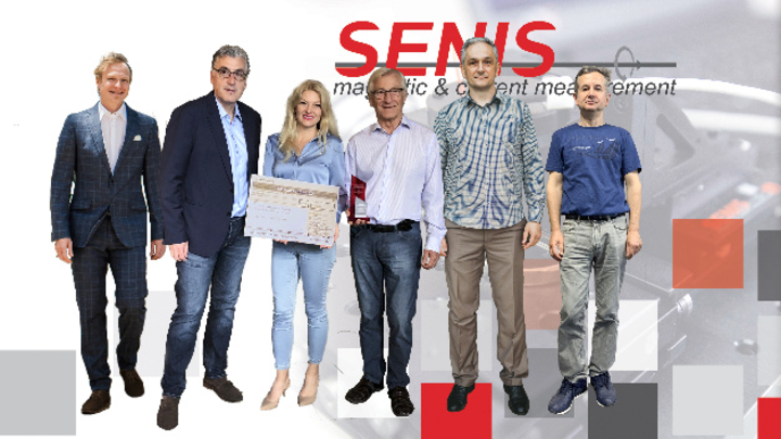 Von links: Dr. Thomas Kaltenbacher, Sasa Spasic, Dr. Dragana Popovic Renella, Prof. Dr. Radivoje Popovic, Marjan Blagojevic, Sasa Dimitrijevic.