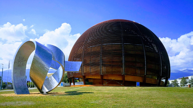 The Globe visitor centre of the European nuclear research organisation CERN.
