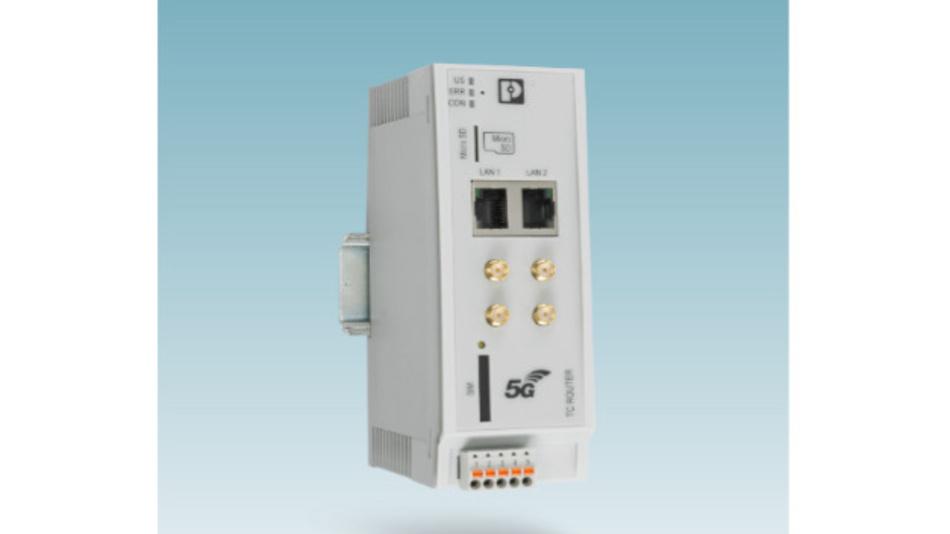Der 5G-Router wurde gemeinsam von den Unternehmen Phoenix Contact, Quectel und Ericsson entwickelt.