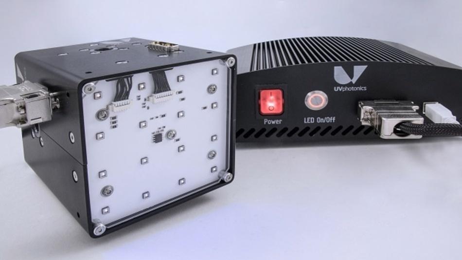Dank UVC-LEDs eignet sich das modulare LED-Bestrahlungssystem zur Desinfektion verschiedenster Oberflächen.