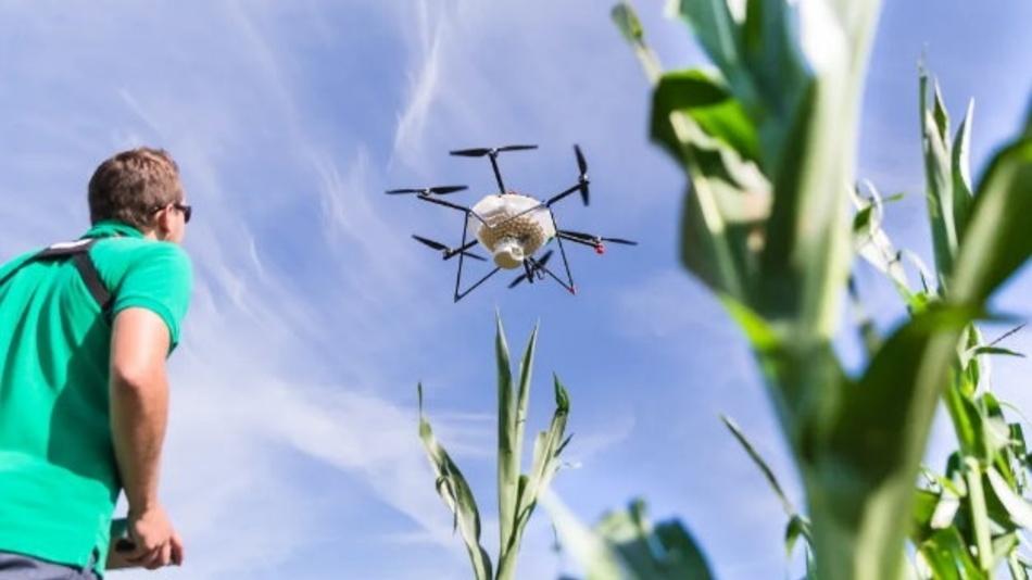 Die Digitalisierung schreitet auch in der Agrartechnik voran. So gibt es mittlerweile Drohnen für unterschiedliche Aufgaben – von der Kartierung bis hin zur Feldspritze.