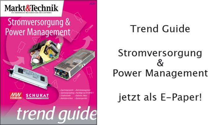 """Trend Guide """"Stromversorgung & Power Management"""" jetzt als E-Paper!"""