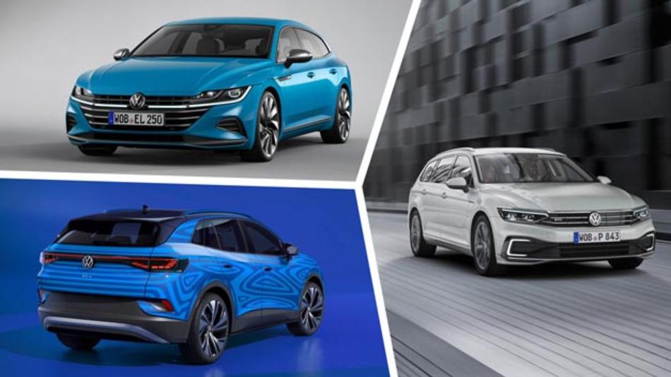 Im Volkswagen Werk werden die Modelle Passat, Arteon und ab 2022 auch der vollelektrische Kompakt-SUV ID.4 produziert.