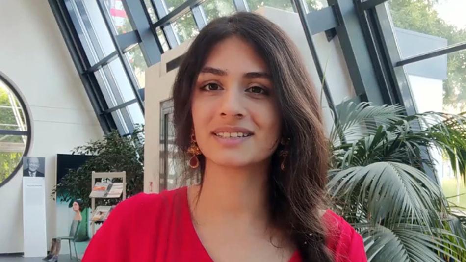 Noshaba Cheema, Doktorandin der Universität des Saarlandes und Forscherin am DFKI und Max-Planck-Institut für Informatik.