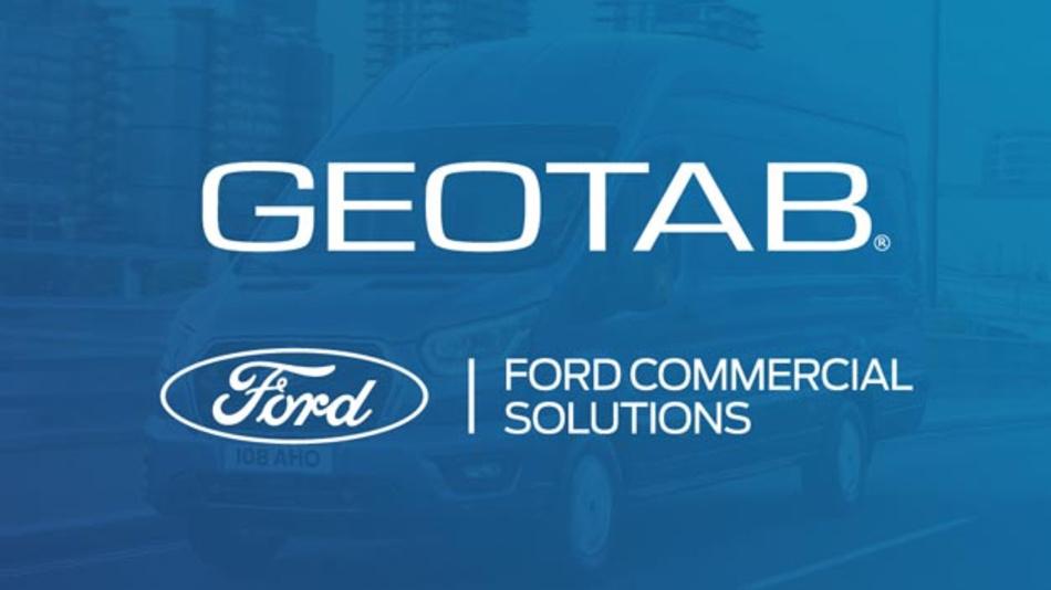 Geotab und Ford erweitern ihr integriertes Telematikangebot in Europa, ohne dass zusätzliche Hardware notwendig ist.