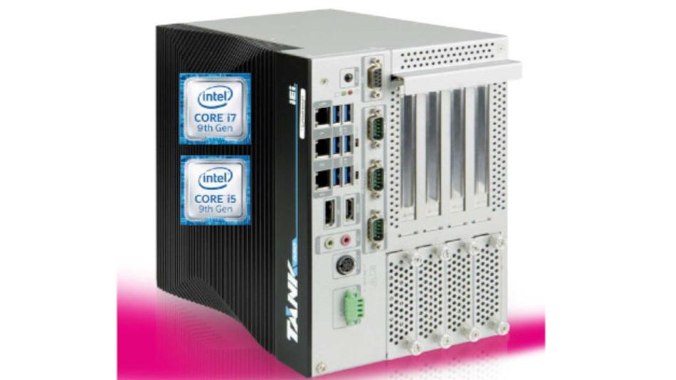 Der lüfterlose Embedded-PC »TANK-880-Q370« ist ein neues Produkt der TANK-Serie.