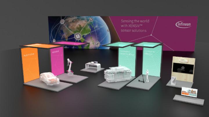 Infineons virtueller Messestand wird ab dem 20. Juli 2020 zugänglich sein.