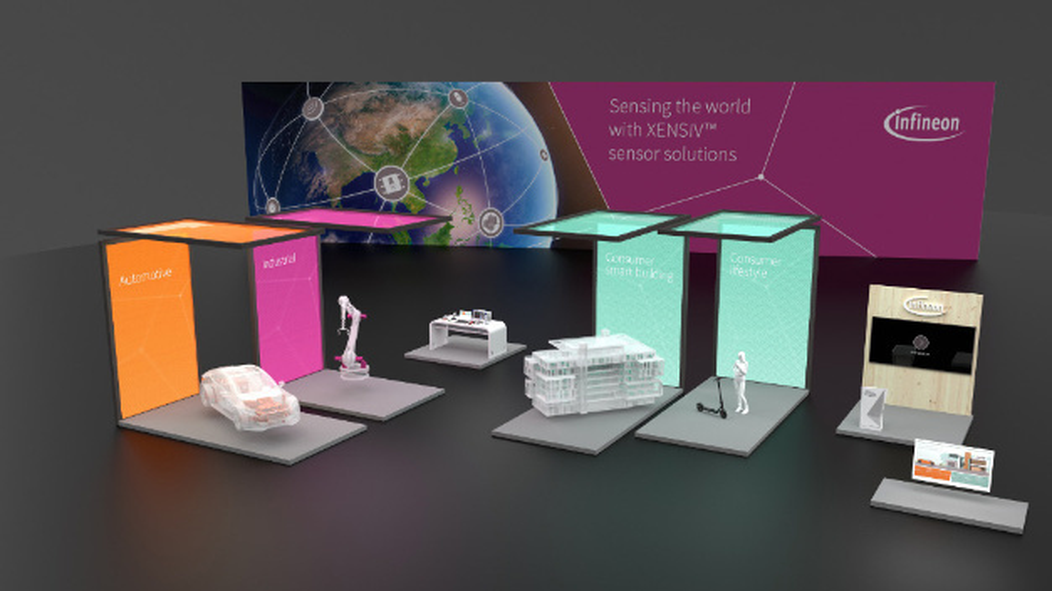 Infineons virtueller Messestand wird ab dem 20. Juli 2020 geöffnet.