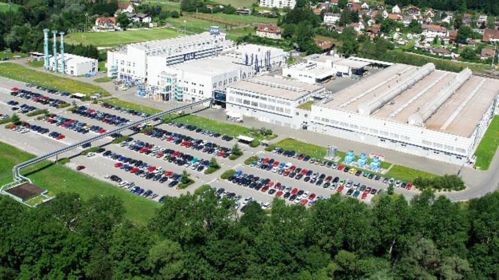 Der Firmensitz von AT&S in Leoben.
