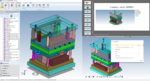 Automatischer 3D-Vergleich von CAD-Daten