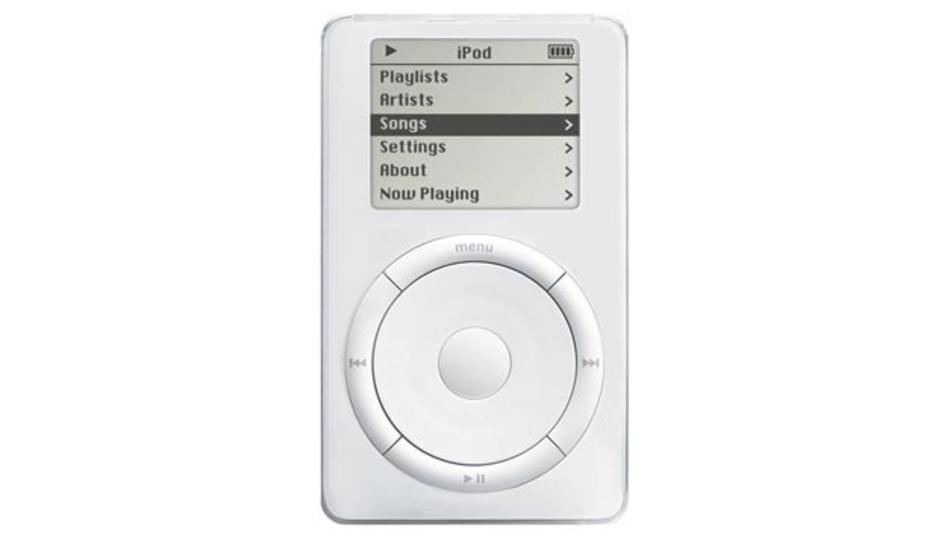 Der Apple iPod war eines der ersten kommerziellen Geräte, die das MP3-Format nutzten.