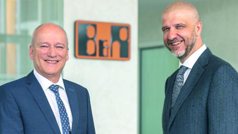 Der Vorgänger und der Nachfolger: Peter Gucher (links) und Luca Galluzzi