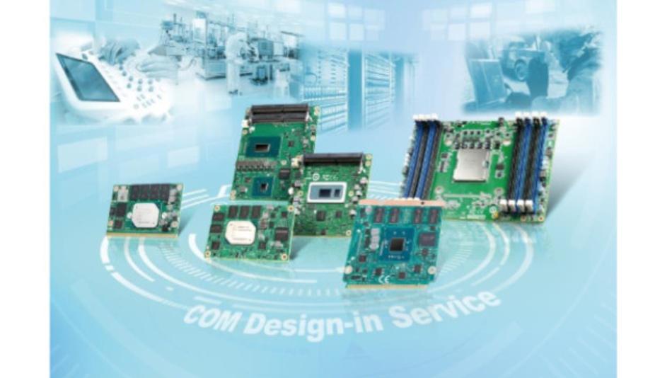 Im Zuge seiner Design-in Services bietet Advantech verschiedene CoMs an.