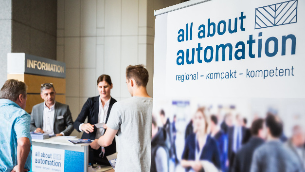 Auf der All About Automation Essen 2019
