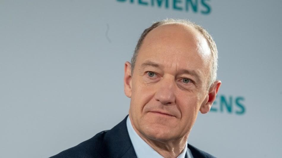 Roland Busch, Stellvertretender Vorstandsvorsitzender und Technischer Direktor (CTO) der Siemens AG. Siemens will auch nach der Corona-Pandemie stark auf mobiles Arbeiten setzen.