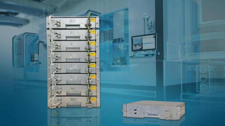 Die UltraCap-Module haben eine Nennspannung von 95 V und werden typischerweise in Reihe geschaltet, um die erforderliche Spannungsebene zu erreichen.