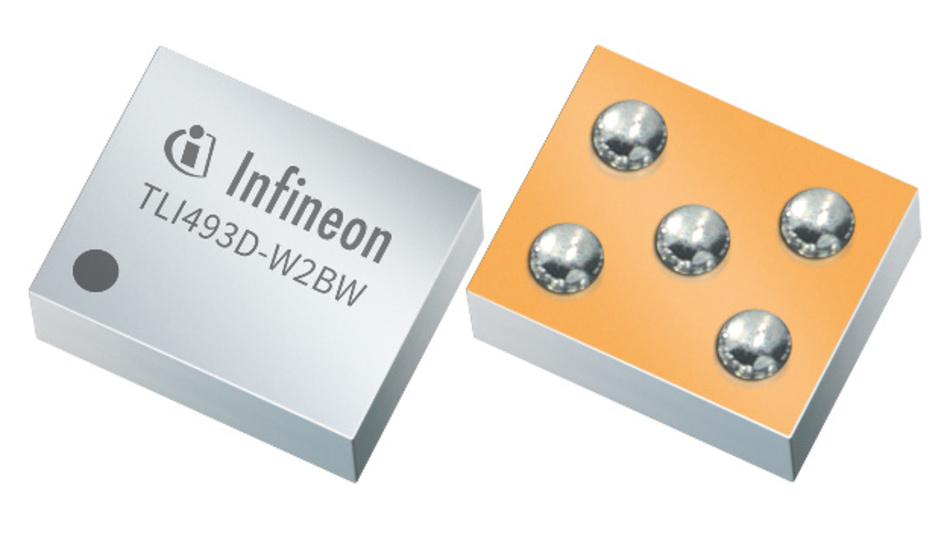 Neuester Verteter der Magnetsensor-Familie von Infineon: Der TLI493D-W2BW soll sich in Industrie- und CE-Anwendungen als Alternative zu optischen und widerstandsbasierten Sensoren durchsetzen.