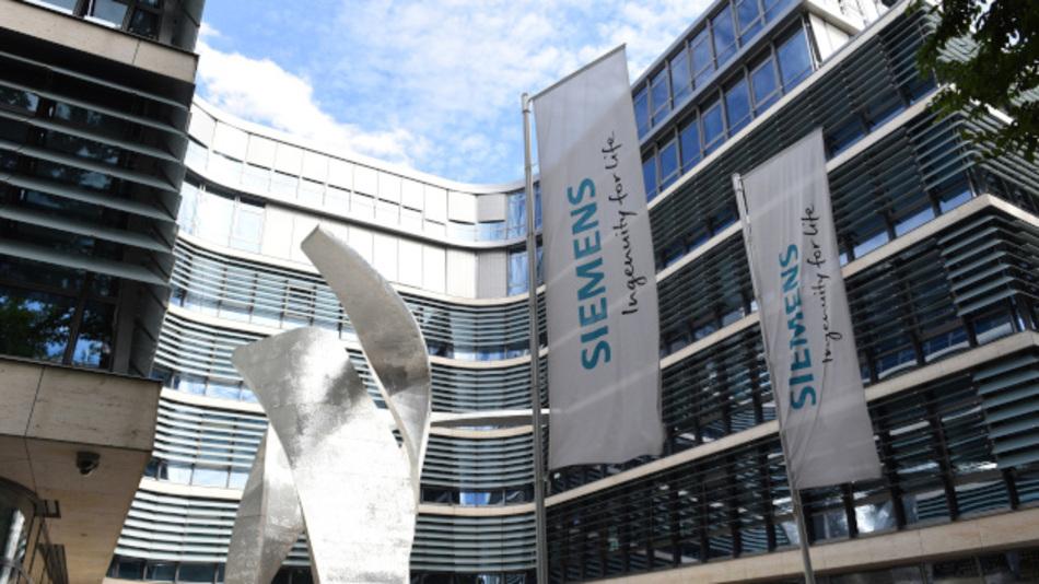 """Präsenz-Zeiten, wie hier am Siemens-Hauptsitz in München, sollen das mobile Arbeiten künftig nur noch """"sinnvoll ergänzen""""."""