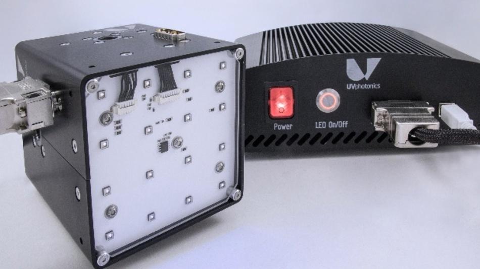 Ein neues LED-Bestrahlungssystem zur Behandlung von Oberflächen bietet eine bislang noch nicht gesehene Flexibilität.