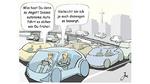 Wie ein Mensch zu fahren, verursacht Unfälle