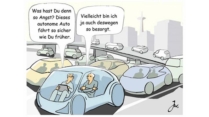 Wenn autonomes Fahren sicherer werden soll, dann müssen autonome Autos dem Menschen überlegen sein.