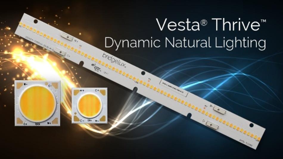 Natürliche Lichtquellen mit vollem Spektrum – Vesta Thrive von Bridgelux