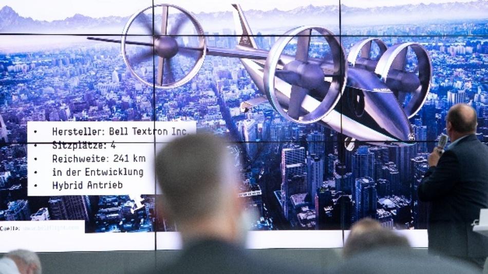 Der Köln/Bonner Airport stellt eine technische Machbarkeitsstudie zum Einsatz bemannter Flugtaxen am Flughafen vor