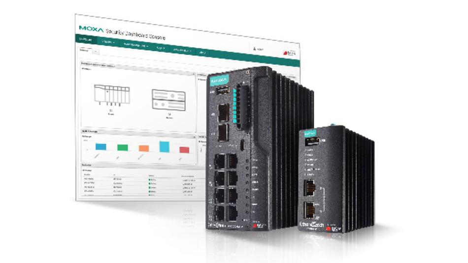 Die neue industrielle Cybersecurity-Lösung von Moxa soll IT- und OT-Security in Einklang bringen.