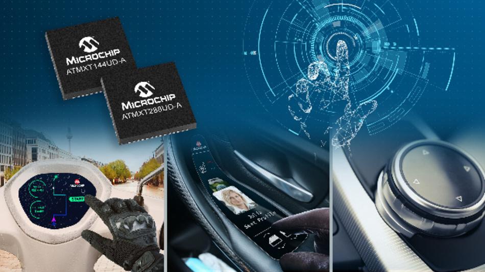 Neue Touch-Controller für Mehrfinger-, Handschuh- und wetterfesten Betrieb  als benutzerfreundliche, sofort einsetzbare Lösung.