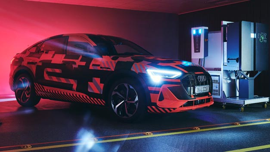 Die intelligente Nutzung von Elektroautos bietet großes Potenzial für Energiewende – das demonstrierten Audi und die Hager Group.