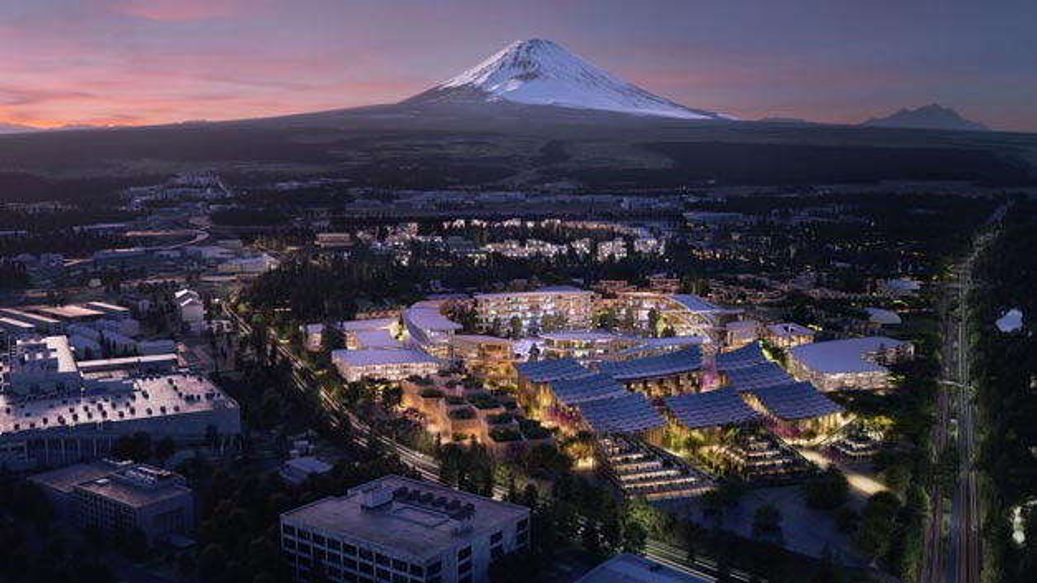 Die vollvernetzte Modell-Metropole Woven City ist Teil von Woven Core, eine der beiden Tochterunternehmen der neuen Woven Planet, in der die Aktivitäten des Toyota Research Institute – Advanced Developmentab 2021 gebündelt werden.