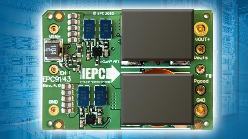Mit dem neuen Referenzdesign von EPC und Microchip sollen Power-Entwickler in Rechenzentren die Vorteile von GaN voll nutzen können.