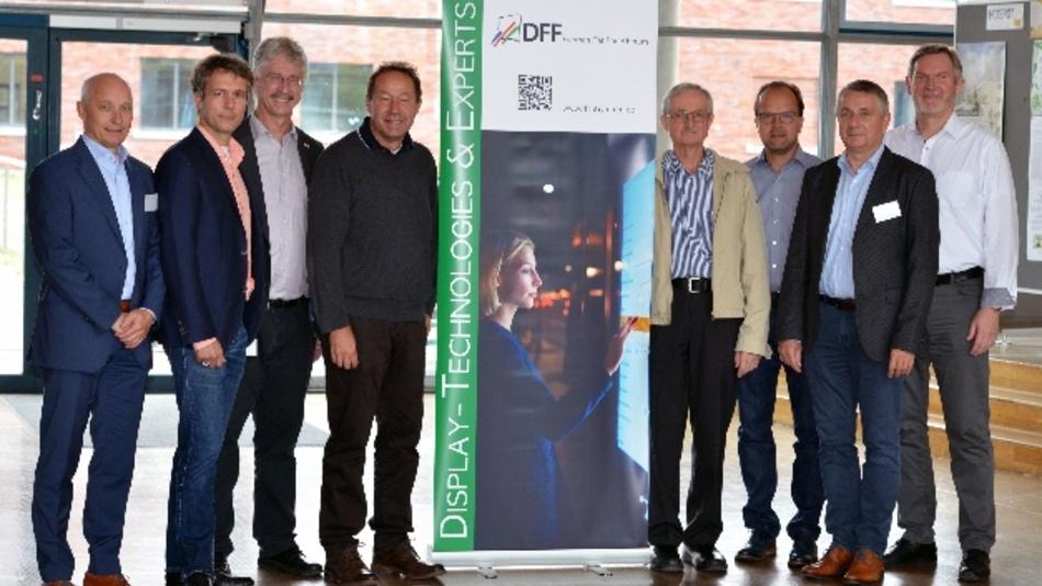 Der Vorstand des Deutschen Flachdisplayforums DFF: